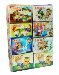 Onwards - Story Packet Tissue 12 Tubes x 12 Packs x 8 Sheets