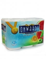 Onwards - Kitchen Towel 6 Rolls X 70Sheets