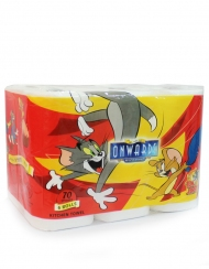 Onwards - Tom & Jerry Kitchen Towel 6 Rolls X 70 Sheets