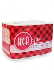 KCA- Value Kitchen Towel 6 Rolls X 70Sheets