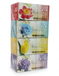 KCA - Bouquet Box Tissues 4 Boxes x 170 Sheets