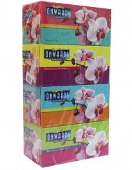 Onwards - Orchid Box Tissue 4 Boxes x 200Sheets
