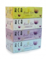 KCA - Box Tissues 4 Boxes x 70 Sheets