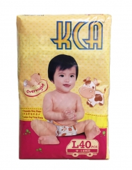 KCA- Baby diapers (Jumbo pack) - L40 (for babies 9-14kg)