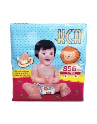 KCA- Baby diapers (Jumbo pack) - S56 (for babies 3-7kg)