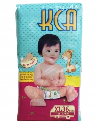 KCA- Baby diapers (Jumbo pack) - XL36 (for babies 12-17kg)