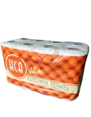 KCA- Value Kitchen Towel<br/> 8Rolls x 60Sheets