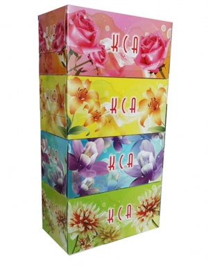 KCA - Value Box Tissue<br/>4 Boxes x 170 Sheets