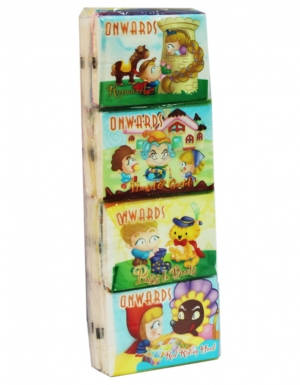 Onwards - Story Packet Tissue<br/> 12 Packs x 8 Sheets