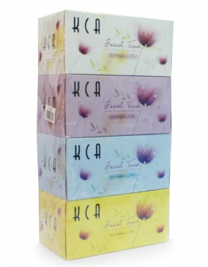 KCA - Value Box Tissues <br/>4 Boxes x 200 Sheets