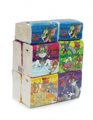 Onwards - Tom & Jerry Mini Travel <br/>10 Packs x 150 Sheets