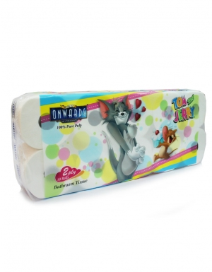 Onwards - Tom & Jerry Bathroom Tissue <br/>10 Rolls x 400 sheets